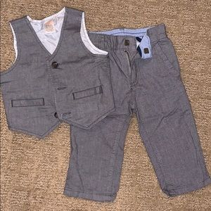 Vest and dress pant set